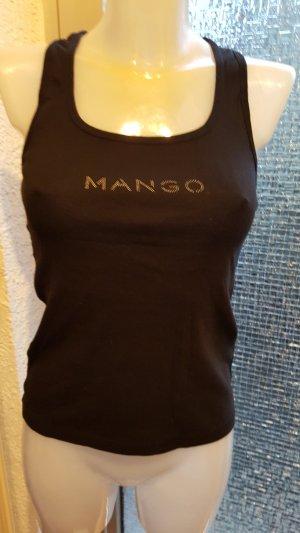 Mango Basics Camiseta sin mangas negro