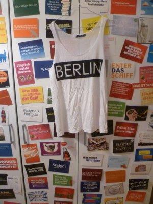 Tanktop mit Berlin Aufdruck, Hipster, Blogger, Oversize, Used,Atmosphere,Primark
