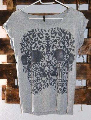 Tanktop / Shirt von New Yorker – Totenkopfmotiv / Skull