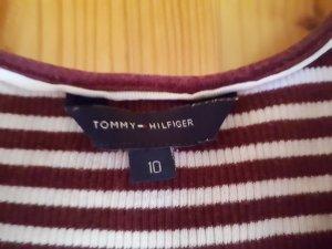 Tommy Hilfiger Tanktop wit-bordeaux