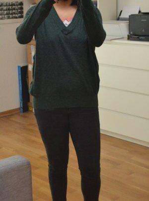 Tannen-grüner Hipster Pullover