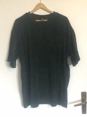 H&M Camicia oversize verde scuro