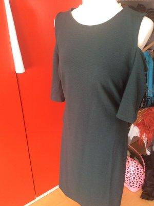 Tannengrünes Kleid von h u m in XL, nur gute 48
