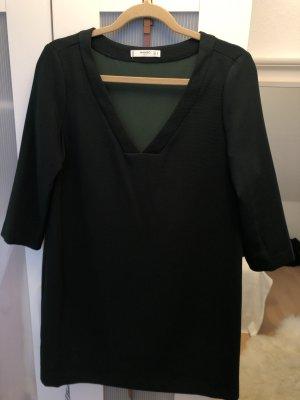 Tannengrünes Kleid von Mango in Größe M