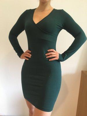 Tannengrünes Wickelkleid von American Apparel