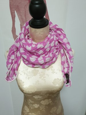 Neckerchief white-pink