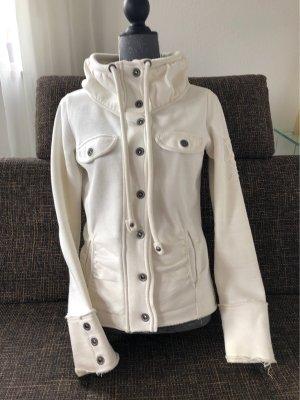 Tantum O.N. Chaqueta estilo camisa blanco puro