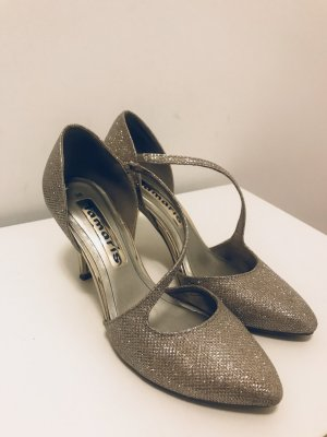 Tanzschuh in silber