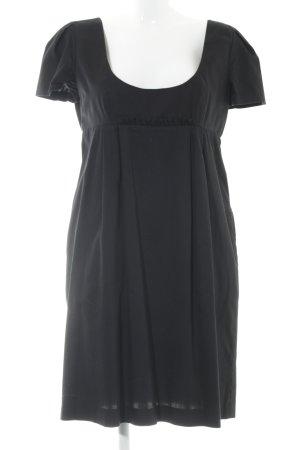 Tara jarmon Babydoll-jurk zwart casual uitstraling