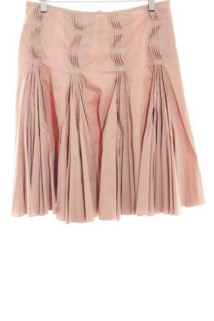 Tara jarmon Jupe à plis chameau style décontracté