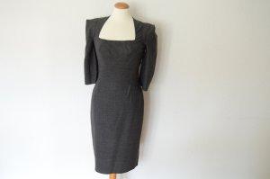 TARA JARMON Kleid mit betonten Schultern 36 (FR38) NEU! anthrazit grau