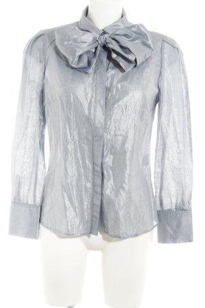 Tara jarmon Langarm-Bluse blassblau Casual-Look