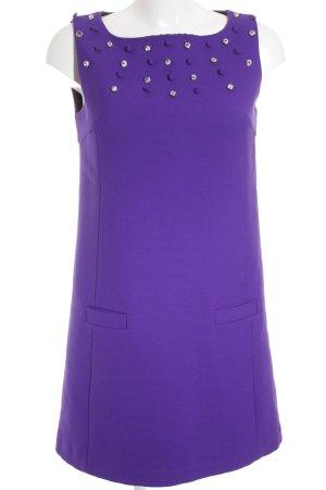 Tara jarmon Minikleid blauviolett-dunkelviolett Elegant