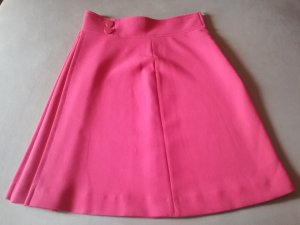 Tara jarmon Midi Skirt raspberry-red
