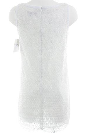 Tara jarmon Kanten jurk wit zakelijke stijl