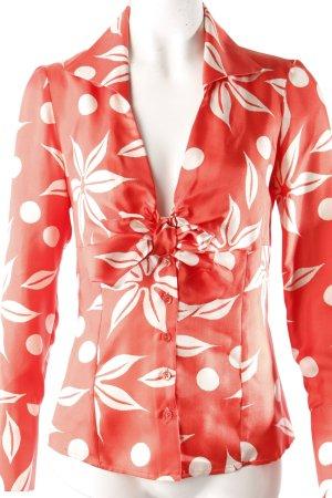 Tara Jarmon Wickelbluse florales Muster