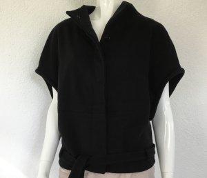 Tara jarmon Cape black wool