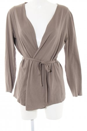 Tara Wraparound Shirt bronze-colored casual look