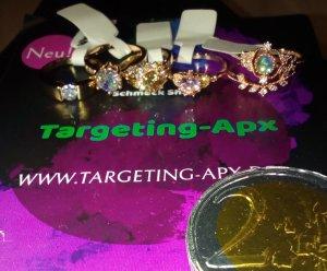 Targeting-Apx Ringe in gold/platin/kupfer