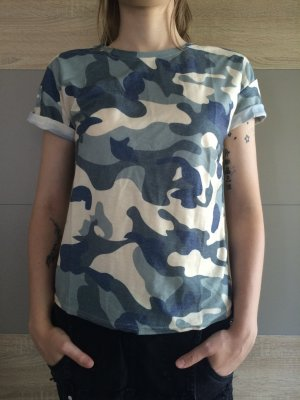 Tarnmuster T-Shirt SheIn