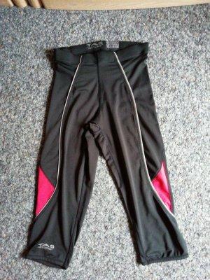 Pantalon de sport noir-rouge