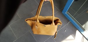 Turn Bag camel leather