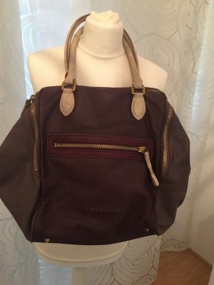Liebeskind Berlin Hobos brown red-bordeaux leather