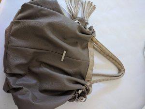 Miu Miu Bolso barrel marrón grisáceo