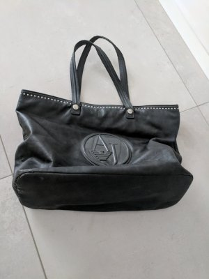 Armani Jeans Carry Bag dark grey-anthracite