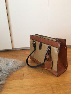 Accessorize Bolso marrón-crema