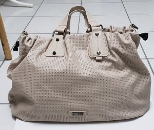 Cinque Carry Bag grey brown-oatmeal