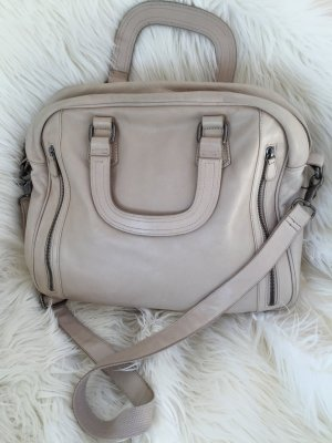Fredsbruder Business Bag oatmeal leather