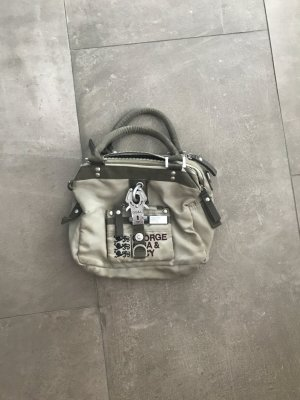 George Gina & Lucy Handbag grey brown