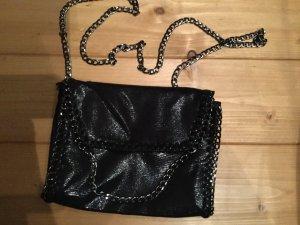 Mini sac noir faux cuir