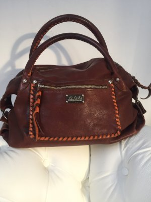 Carry Bag cognac-coloured-dark orange