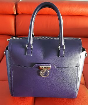 Versace Collection Borsetta viola scuro