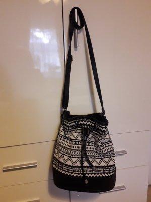 Tchibo / TCM Pouch Bag black-white