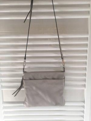abro Bandolera gris claro-color plata