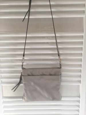 abro Crossbody bag light grey-silver-colored