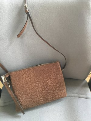 abro Crossbody bag light brown-grey brown