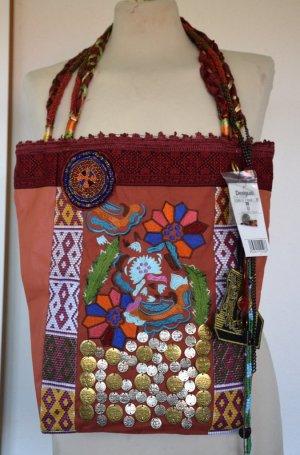 """Tasche """"Afrika"""" von Desigual aus Echtleder - neu mit Etikett"""