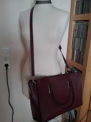 Anna Field Business Bag blackberry-red