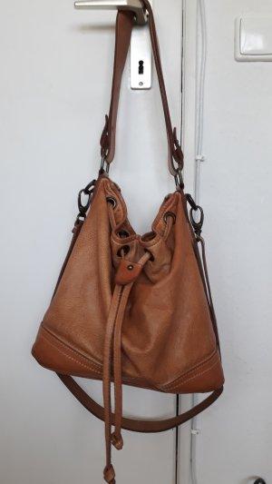 Tasche aus Leder, hergestellt in Italien