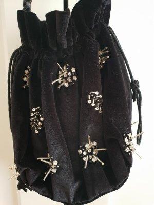 Tasche aus Samt von Topshop