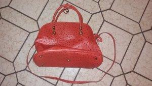 Tasche aus Straußenleder von L. Credi