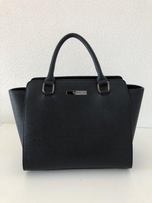 tragwert Shopper black-silver-colored