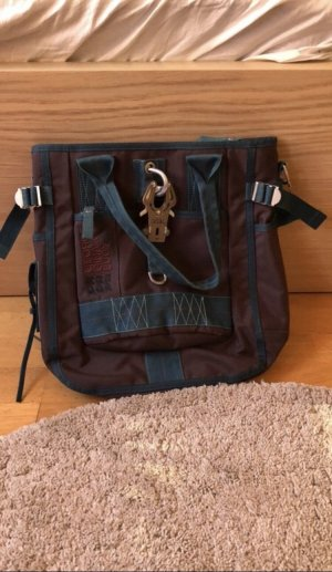 George Gina & Lucy Carry Bag blue-brown