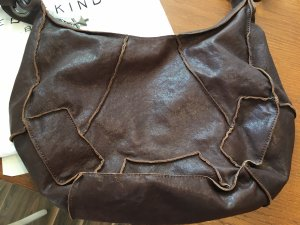 Liebeskind Berlin Pouch Bag dark brown leather