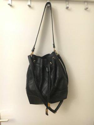 Tasche Beuteltasche New Look schwarz