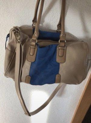 Tasche Blau Beige